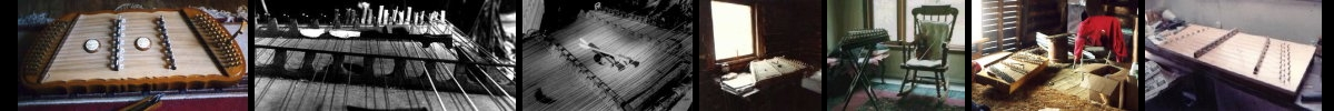 filmstrip of dulcimer pictures
